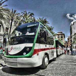 tren turístico granada