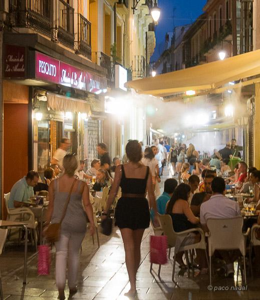 tipos de bares de tapas en Granada