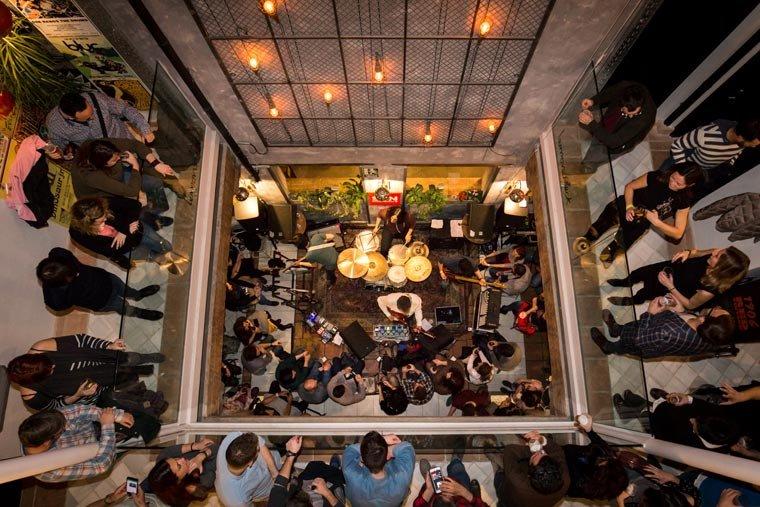 restaurantes con música en directo Granada